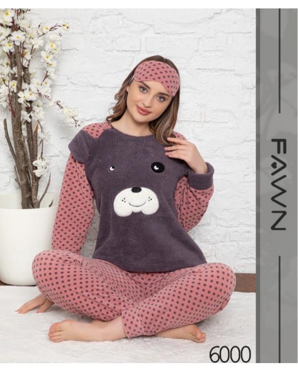 Флісова молодіжна піжама Fawn 6000