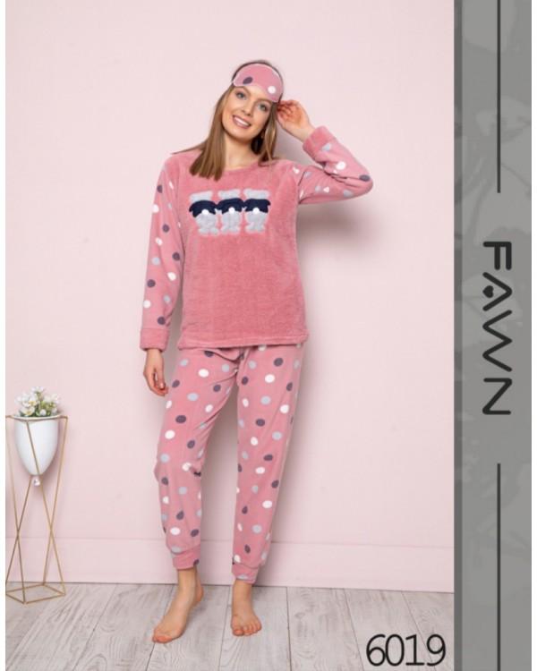 Флісова молодіжна піжама Fawn 6019