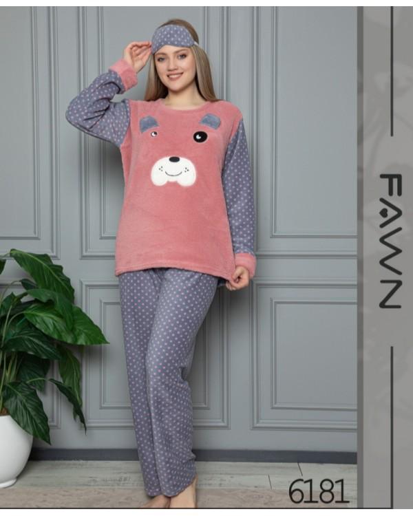 Флісова молодіжна піжама Fawn 6181