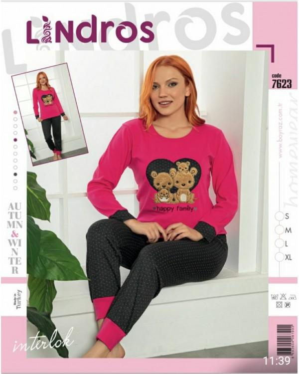 Молодіжна піжама Lindros 7623