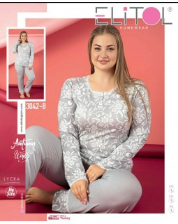 Жіноча піжама Elitol 3042-B