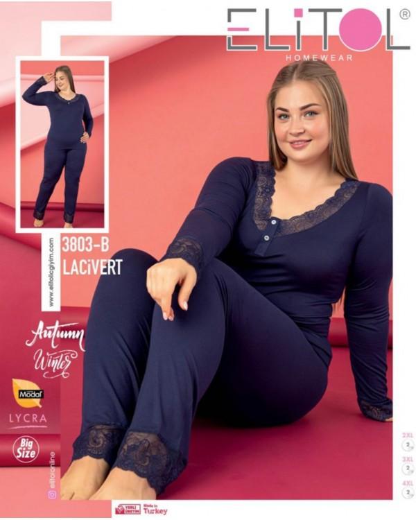 Жіноча піжама Elitol 3803-B