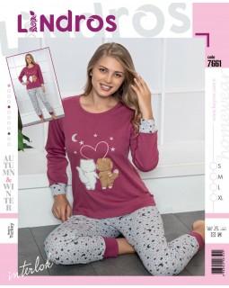 Молодіжна піжама Lindros 7661