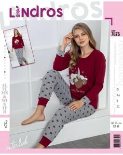 Молодіжна піжама Lindros 7675