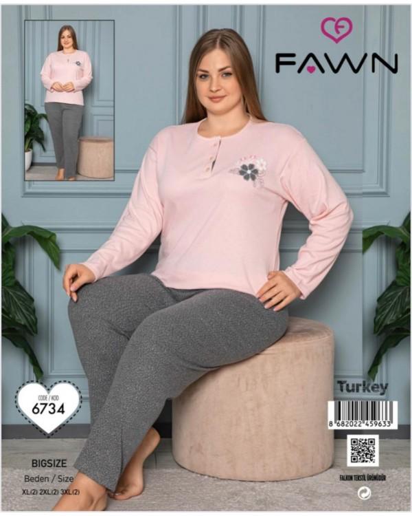 Жіноча піжама FAWN 6734