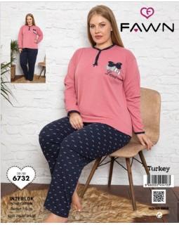 Жіноча піжама FAWN 6732