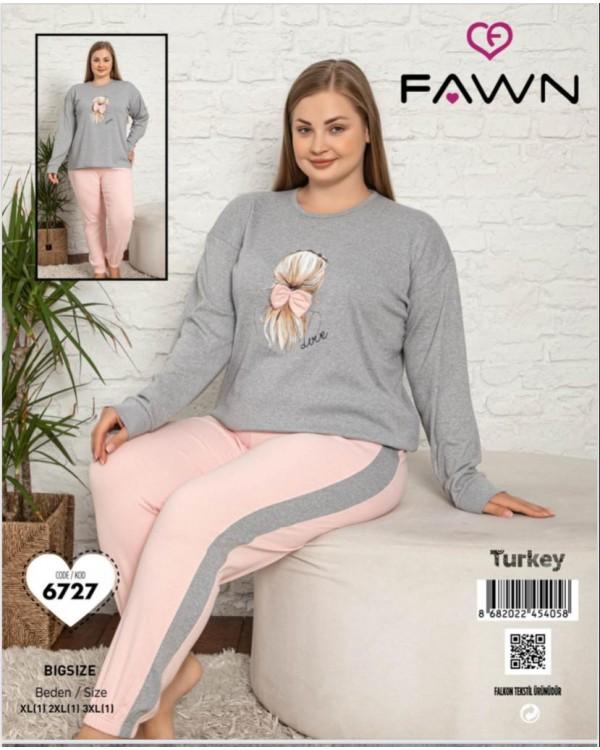 Жіноча піжама FAWN 6727