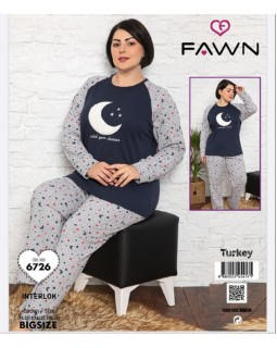 Жіноча піжама FAWN 6726