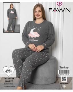 Жіноча піжама FAWN 6731