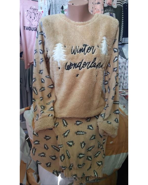 Флісова молодіжна піжама Arcan Winter Wonderland