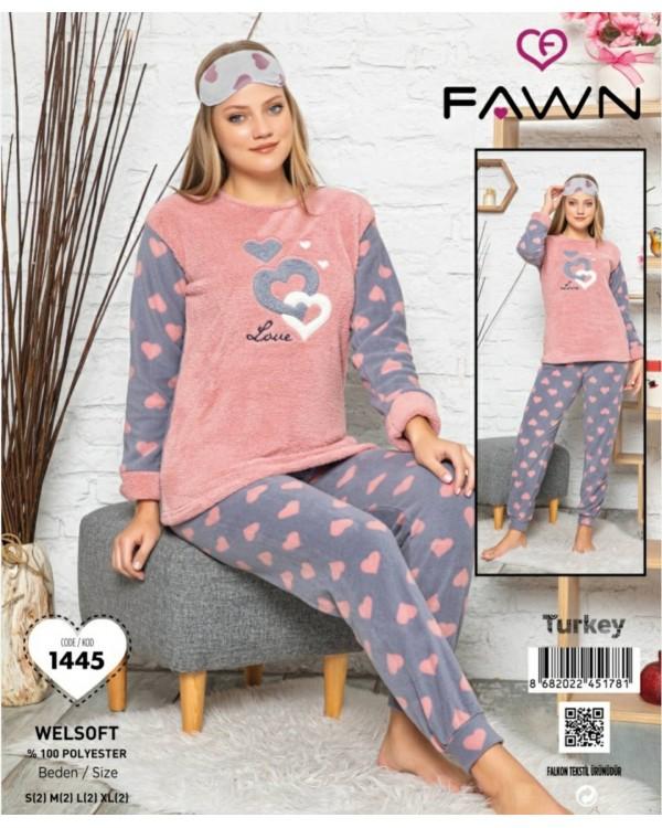 Тепла молодіжна піжама FAWN 1445