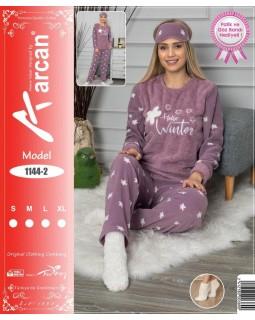 М'яка молодіжна піжама фліс і махра 'Hello Winter'