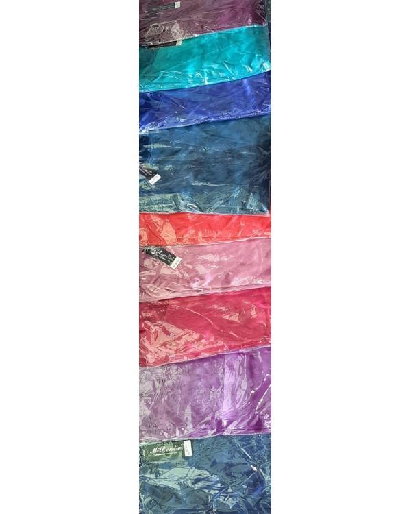 Комплект атласний халат та сорочка Warssawa