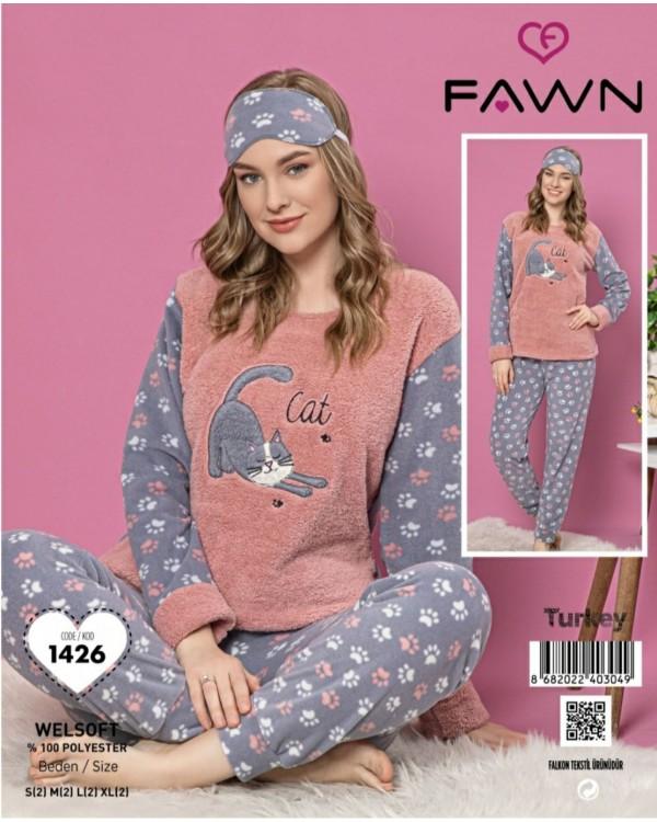 Флісова молодіжна піжама Fawn 1426