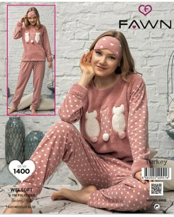 Флісова молодіжна піжама Fawn 1400