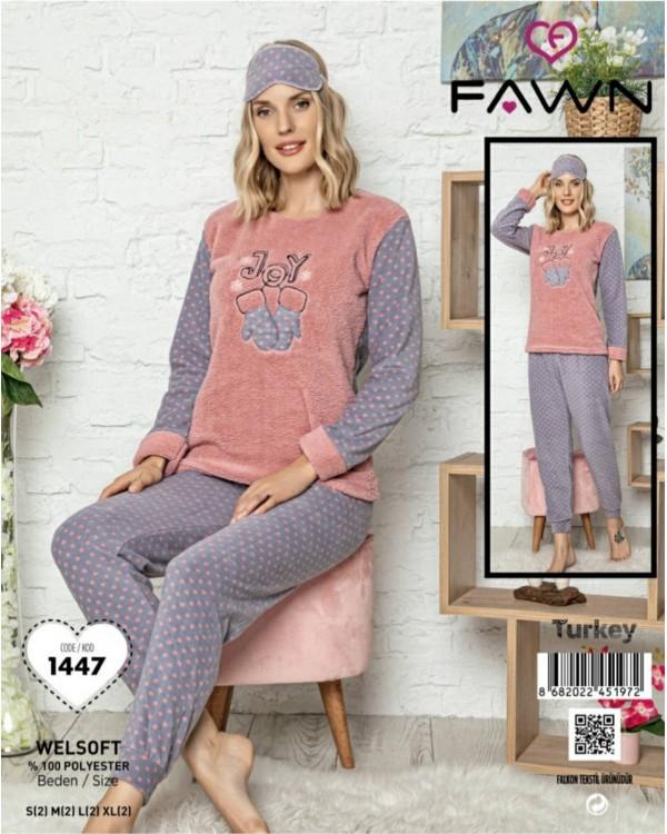 Флісова молодіжна піжама Fawn 1447