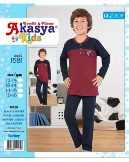 Піжама для хлопців-підлітків Akasya 1581