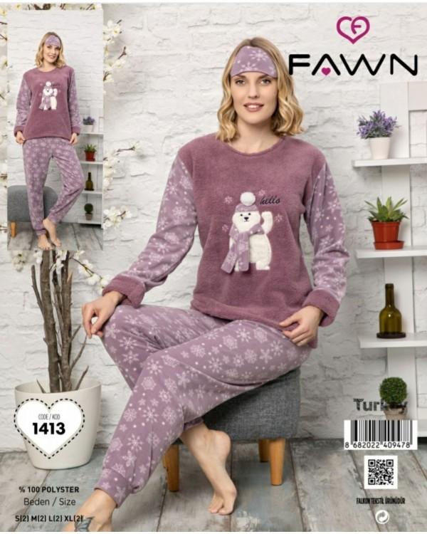 Флісова молодіжна піжама Fawn 1413