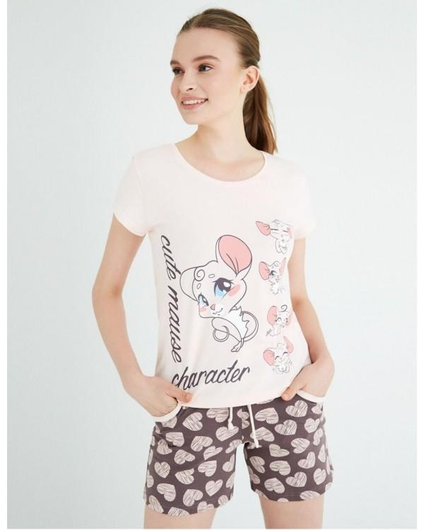 Піжама молодіжна Pink Secret 5642