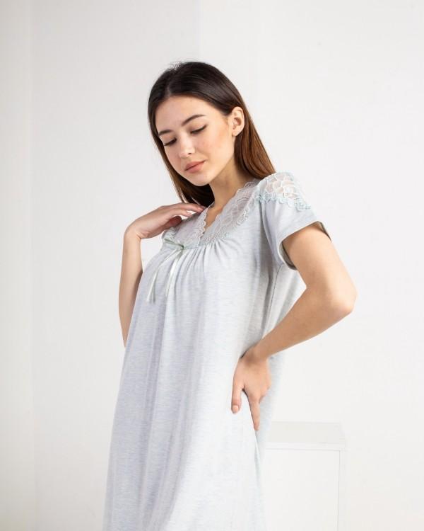 Жіноча сорочка великого розміру Nicoletta 84734