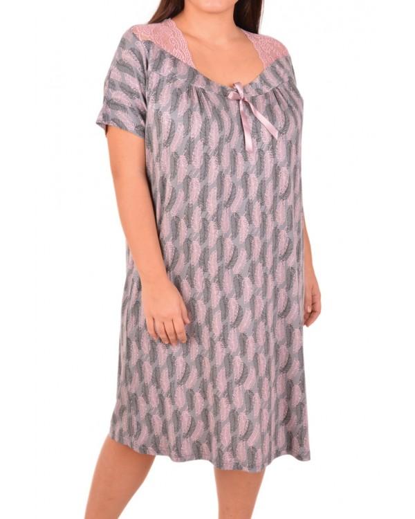 Жіноча сорочка великого розміру Nicoletta 81984