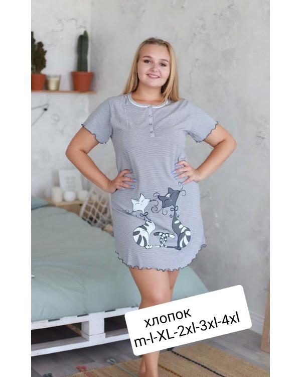 Бавовняна жіноча сорочка