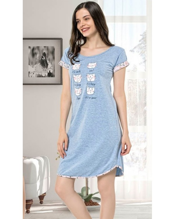 Нічна сорочка ISIK Underwear 9550