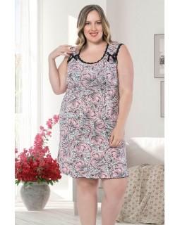 Жіноча сорочка великого розміру ISIK 902945