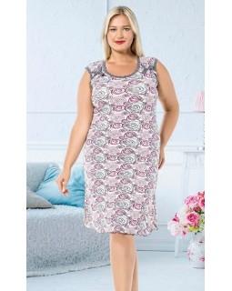 Жіноча сорочка великого розміру ISIK 902896