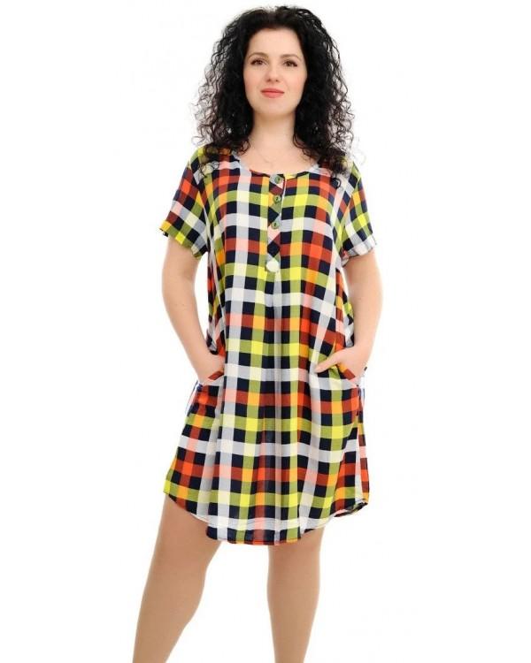 Плаття зі штапелю 1588