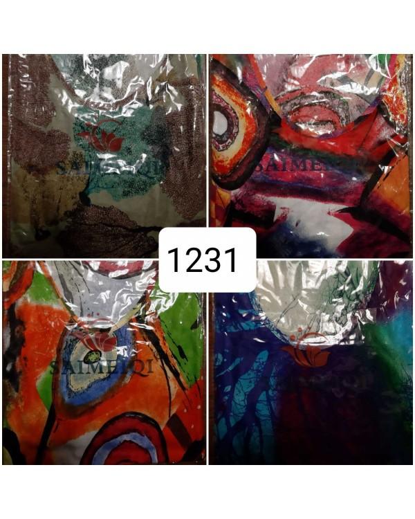 Плаття зі штапелю 1231