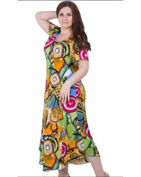 Плаття зі штапелю 1286