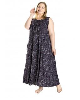 Плаття зі штапелю великого розміру 2234