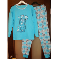 Піжама на байці для дівчат-підлітків