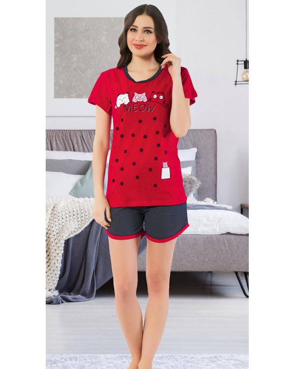 Піжама з шортами  Asma 7126