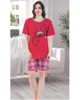 Піжама з шортами  Asma 7128