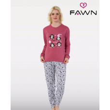 Молодіжна піжама FAWN 2041
