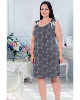 Жіноча сорочка великого розміру ISIK 30114