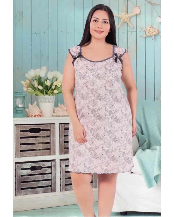 Жіноча сорочка великого розміру ISIK 30121