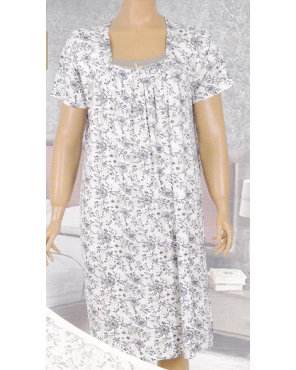 Жіноча сорочка великого розміру Nicoletta 81900